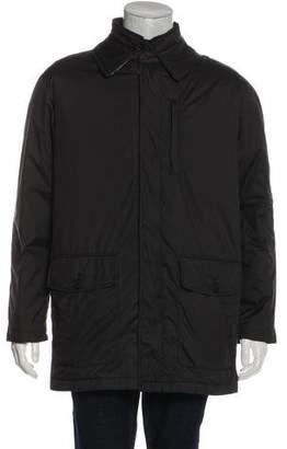 Burberry Layered Puffer Jacket