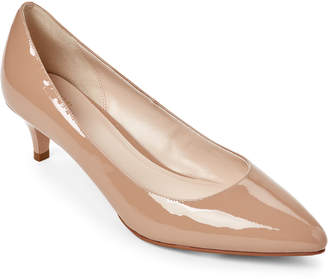 Cole Haan Maple Sugar Juliana Patent Pointed Toe Pumps