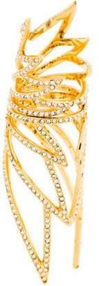 Eddie Borgo Crystal Hinged Ring