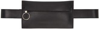 Off-White Black Saff Single Hip Belt Pouch $500 thestylecure.com