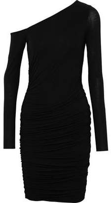 Bailey 44 One-Shoulder Ruched Jersey Dress