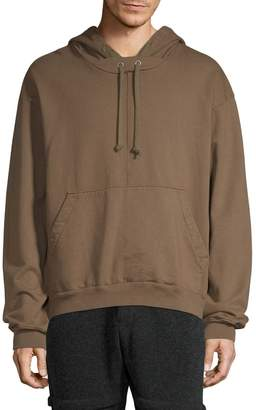 Drifter Men's Infra Cotton Drawstring Hoodie