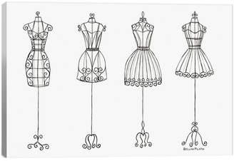 iCanvas icanvasart Vanity Dress Forms By Bella Pillar