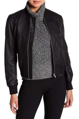 Theory Daryette Leather Jacket