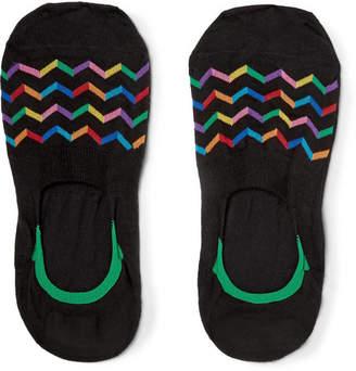 Pantherella Tahiti Stretch Egyptian Cotton-Blend No-Show Socks