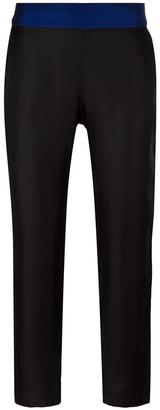 La Perla 'Opt Art' straight trousers $510.16 thestylecure.com