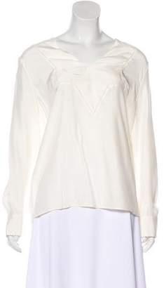 Jenni Kayne Silk Long Sleeve Top