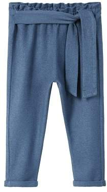 MANGO Baggy bow trousers