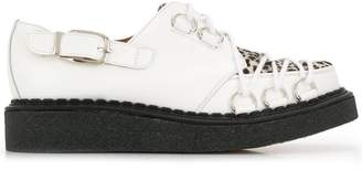 Comme des Garcons crossover lace up creepers