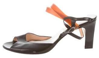 Maison Margiela Mid-Heel Slide Sandals
