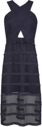 Sam Edelman Geo Fringe Lace Dress