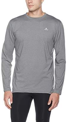 Runyon Athletics Men's Round-Neck Long Sleeve Wicking T-Shirt , M