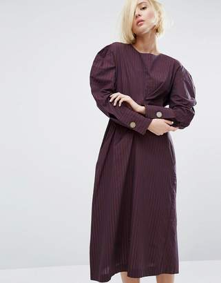 Style Mafia Juliet Volume Shoulder Dress $173 thestylecure.com