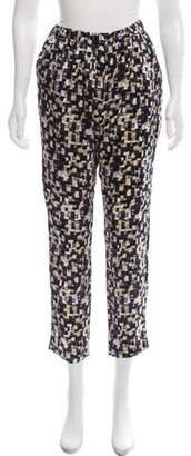 Organic by John Patrick High-Rise Silk Pants