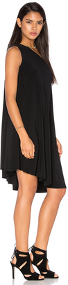 Norma Kamali KAMALIKULTURE One Shoulder Swing Dress $165 thestylecure.com