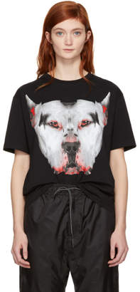 Marcelo Burlon County of Milan Black Dogo T-Shirt