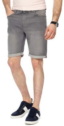 Red Herring MAINE Light Grey Denim Shorts