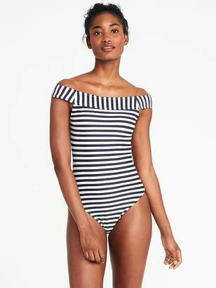 Old Navy Off-the-Shoulder Swimsuit for Women