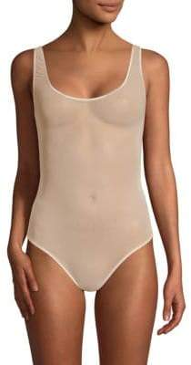 Cosabella Soire Sleeveless Mesh Thong Bodysuit