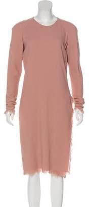 Tom Ford Long Sleeve Midi Dress
