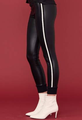 David Lerner Keily Cuffed Vegan Legging With Double Side Tape