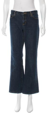 MICHAEL Michael KorsMichael Kors Five-Pocket Straight-Leg Jeans