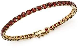 Bloomingdale's Garnet Tennis Bracelet in 14K Yellow Gold - 100% Exclusive