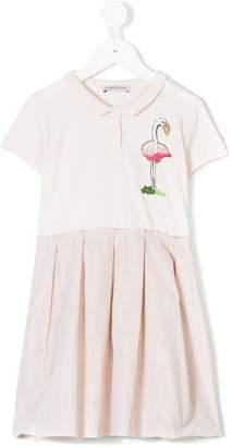 Moncler Flamingo dress