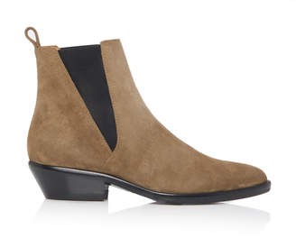 Isabel Marant Drenky Calf Suede Chelsea Boots