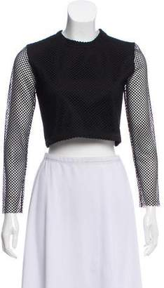 Timo Weiland Mesh Crop Top