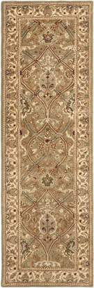 "Safavieh Persian Legend Collection PL819A Handmade Light and Beige Wool Runner, 2 feet 6 inches by 12 feet (2'6"" x 12')"