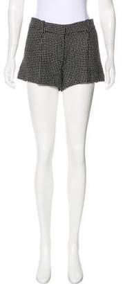 Diane von Furstenberg Naples Silk-Blend Shorts