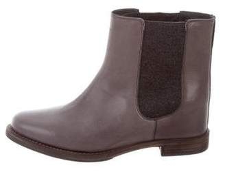 Brunello Cucinelli Leather Chelsea Boots w/ Tags