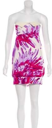 Just Cavalli Printed Sleeveless Dress
