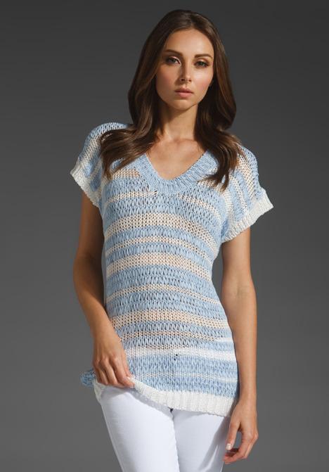 Eryn Brinie Short Sleeve Sweater