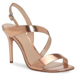 Vince Camuto Costina Leather Open Toe Sandals