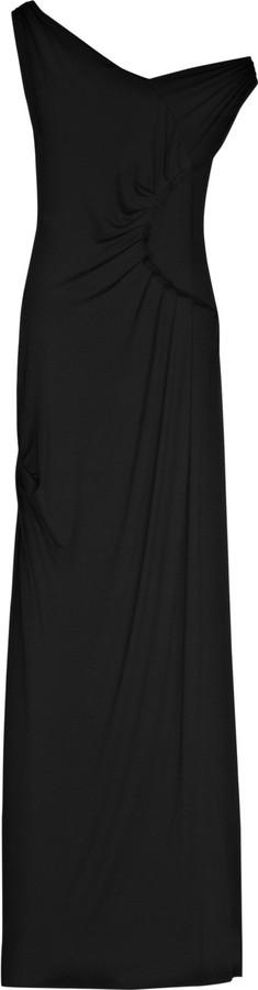 T-Bags Asymmetric jersey gown
