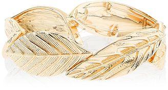Accessorize Leaf Stretch Bracelet