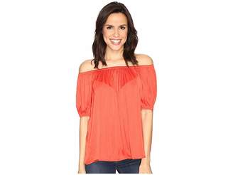 Catherine Malandrino Off Shoulder Top Women's Clothing