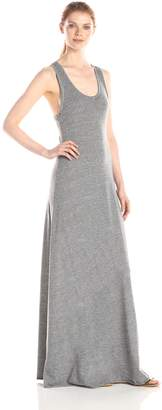 Alternative Apparel Alternative Women's Racer Back Maxi Dress, Eco Grey
