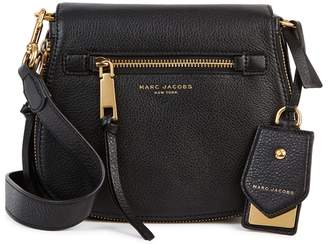 Marc Jacobs Recruit Small Black Leather Shoulder Bag