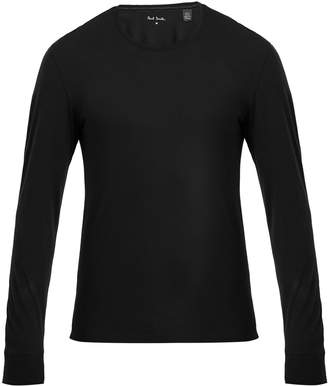 Paul Smith Long-sleeved cotton-jersey pyjama top