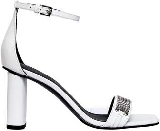 KENDALL + KYLIE 80mm Lake Leather Sandals