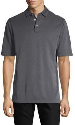 Saks Fifth Avenue Classic Short-Sleeve Polo