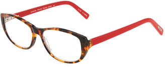 Eyebobs Hanky Panky Square Acetate Reading Glasses, +1.75