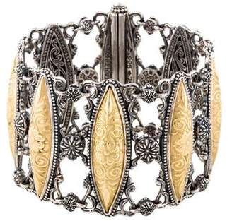 Konstantino Gaia Marquis Link Bracelet