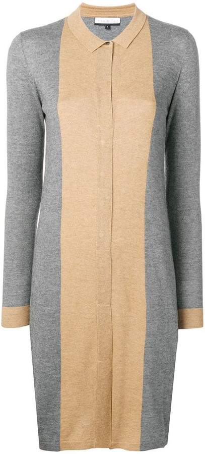 Cashmere In Love Natya two-tone sweater dress