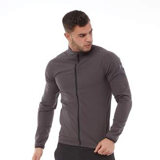 e54b5407908daa Under Armour Mens Storm Launch Full Zip Track Top  Charcoal Charcoal Reflective