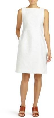 Women's Lafayette 148 New York Jojo Fragmented Jacquard Dress $548 thestylecure.com