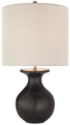 Kate Spade Albie Table Lamp - Metallic Black